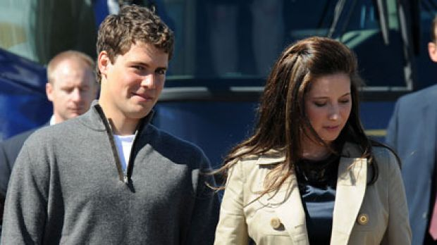 Levi Johnston and Bristol Palin back in 2008.