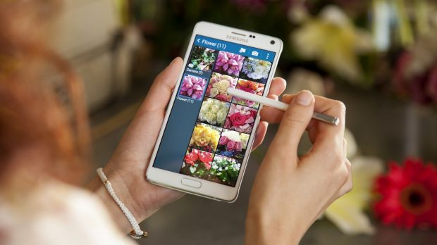 The new Galaxy Note 4.