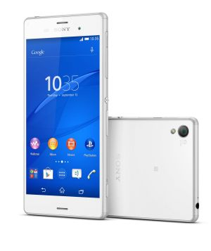 Sony's new 5.2-inch Xperia Z3 flagship smartphone.