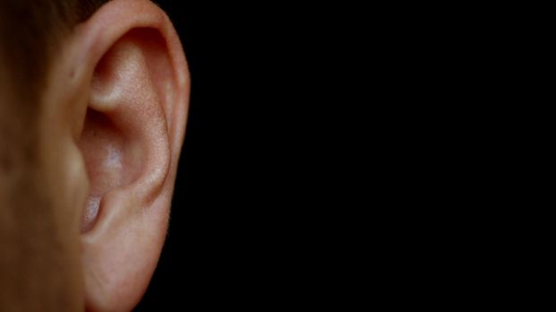 A teenager has had part of his ear bitten off during a fight outside a Gold Coast nightclub.