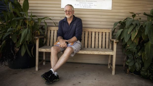 """""""More needs to be done"""": Geoff Davis, a long-term resident and supporter of the Marninwarntikura Women's Resource Centre."""