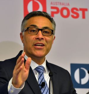 """We are undergoing a period of significant challenge and change"": Ahmed Fahour, Australia Post."