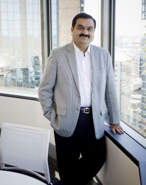 Indian billionaire Gautam Adani.