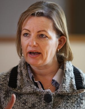 In cabinet: Sussan Ley.