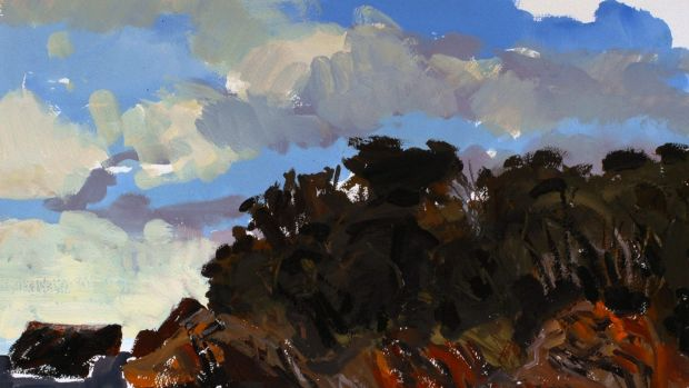 <i>Corunna Point</i> by Andrew Sayers, who developed his love for Australian landscapes growing up in northern Sydney.