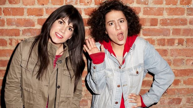 Audacious: The gals from <i>Broad City</i>.