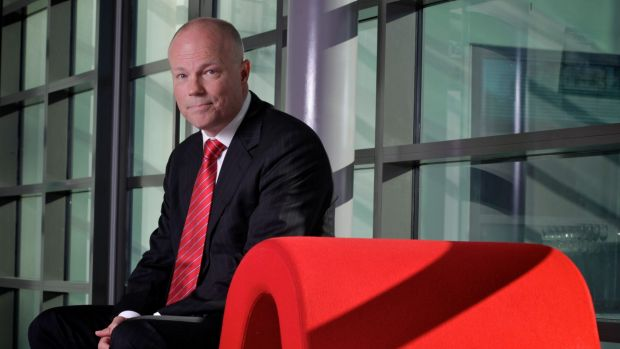 Alastair MacGibbon at the University of Canberra.