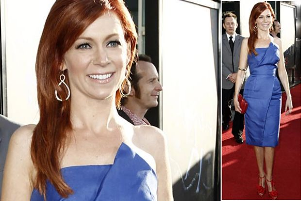 Carrie Preston who plays waitress Arlene.
