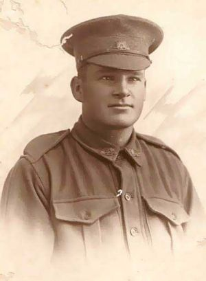 Second Lieutenant John Charles (Jack) Bowden was killed in the 1916 Battle of Fromelles. <i>Picture: Jenny Ingham</i>