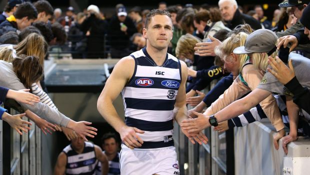 Geelong captain Joel Selwood.