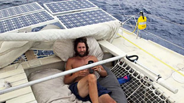 """""""I realised the enormity of the problem we're facing"""" ... David de Rothschild is sailing from San Francisco to Sydney ..."""