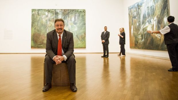 Last hurrah: Dr Ron Radford  will retire as director of the National Gallery of Australia at the end of September.