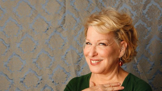 Telling it straight ... Singer Bette Midler has blasted online music services such as Spotify and Pandora saying 'they ...