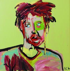 A 2010 portrait of Erik Jensen by Cullen.