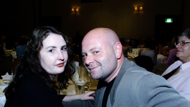 Cullen with his girlfriend Carrie Lumby at a function in Sydney in 2001.