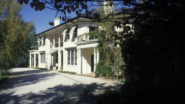 The Lodge in Canberra in 2007. Restoration work has been underway at the PM's residence since 2013.