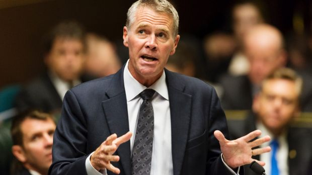 """""""A once-in-a-generation opportunity"""": Deputy Premier Andrew Stoner."""