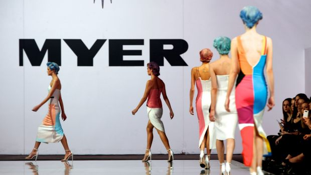 Investors see Myer facing more competition from a reinvigorated David Jones and a raft of newly arrived fashion competitors.