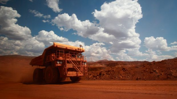 Iron ore prices remain in mid-correction,    says UBS.