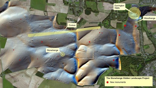 A new survey of Stonehenge has revealed much about early inhabitants who lived near the monument.