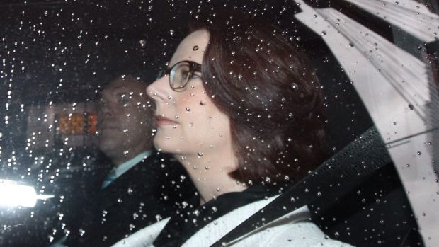 The so-called interrogation of former prime minister Julia Gillard turned out to be a damp squib