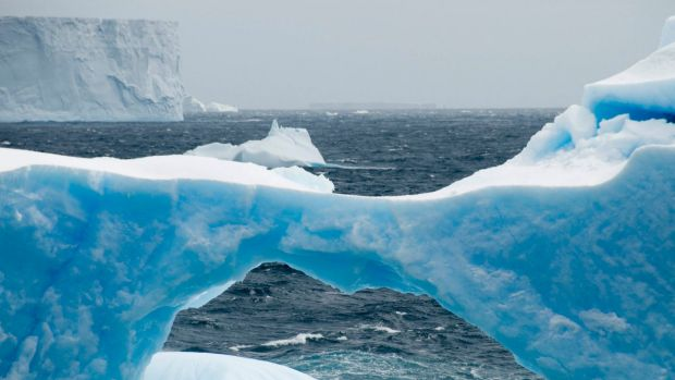 West Antarctic ice melt accelerates as planet warms.