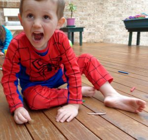 Missing: Searchers have spent the night combing bushland at Kendall for William Tyrell, 3, who was last seen on Friday ...