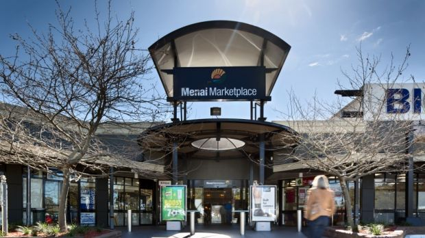 Menai Marketplace: One of the shopping centres included in the Lend Lease fund.