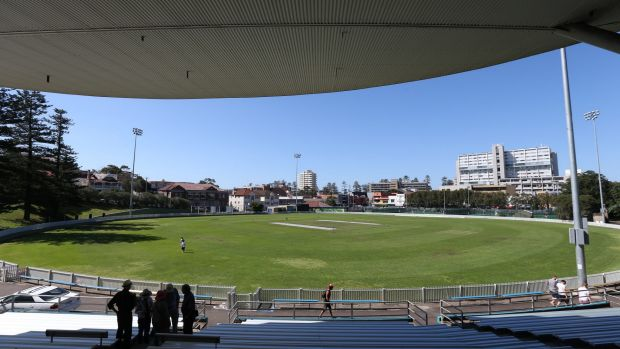 Potential carpark: Manly Oval as it currently stands.