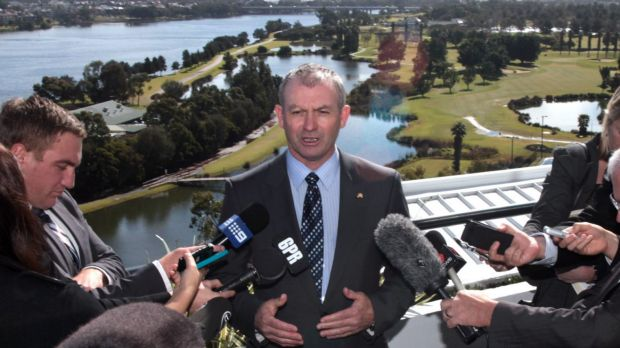 Kim Hames said he had written to Federal Health Minister Peter Dutton in support of a trial initiated or supported by ...
