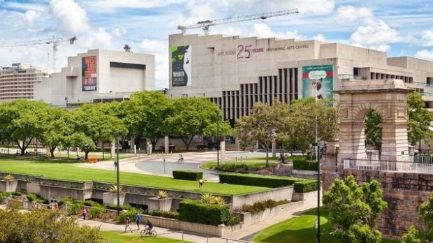 Queensland Performing Arts Centre, identified as an area where security will be heightened.