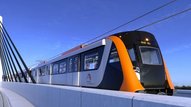 Fast forward: an artist's impression of the new trains, expected to start rolling in 2019.