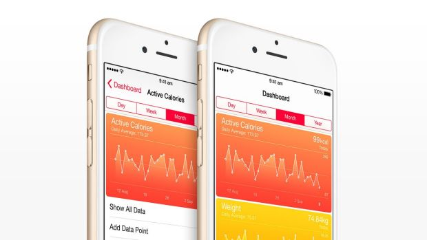 """""""Low-lying fruit"""": Dr George Margelis says apps such as Apple's HealthKit are still in their infancy."""