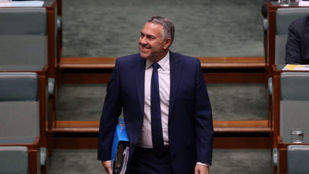 Joe Hockey is holding a good hand with the weakened Aussie dollar.