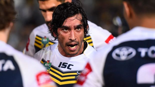 In the firing line: Johnathan Thurston.