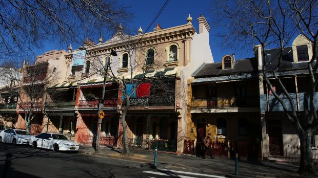 Sell-off: Housing commission property at Millers Point.