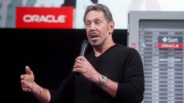 End of an era: Larry Ellison's departure is one of the last exits of the tech industry's first generation of celebrity ...