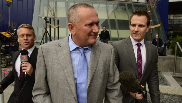Stephen Dank was a surprise spectator in court.
