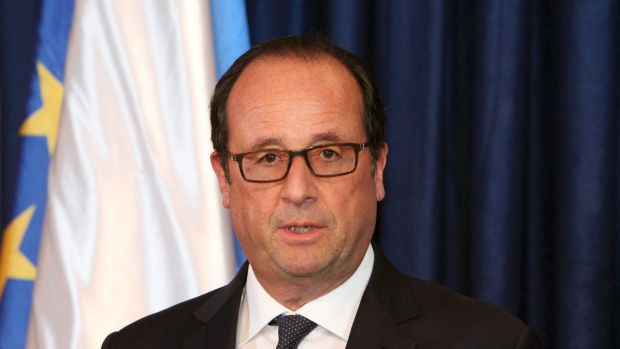 French President Francois /Hollande