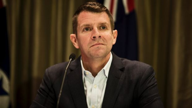No ban, and no criticism of the PM: State premier Mike Baird.