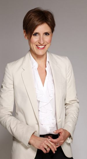 <i>Lateline</i>, hosted by Emma Alberici, could be slimmed down as a result of ABC budget cuts.