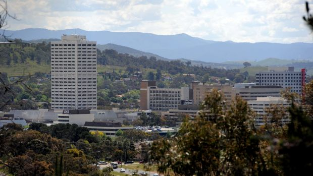 Exodus: 700 public servants are  set to leave Woden town centre in days.
