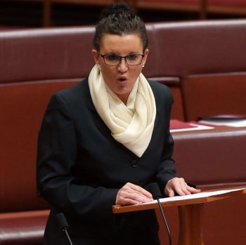 Senator Jacqui Lambie addresses the Senate.