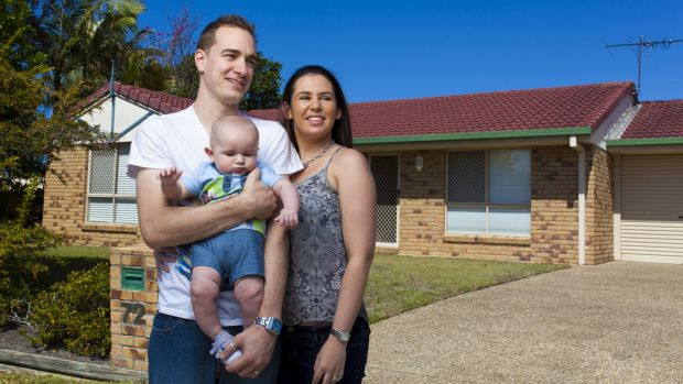 Try before you buy: Before Luke Abraham and his now wife, Carly, bought their first home they put themselves on a ...