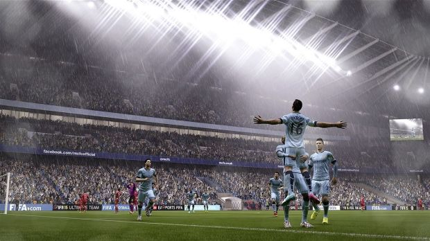 <i>FIFA 15</i>'s beautiful game is even more beautiful on the new consoles.