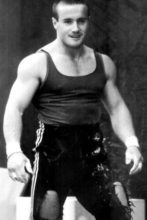 Former Olympic weightlifter Ronald Laycock in a file photo.
