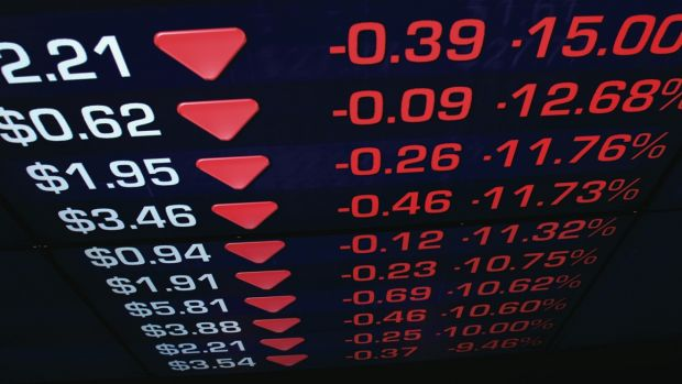 Share sell-down: Maybe it'll the worst day since July. Maybe not. And it won't matter a zac.
