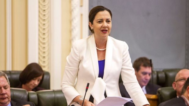 A resolution for Annastacia Palaszczuk? Try to be recognised in a line-up.