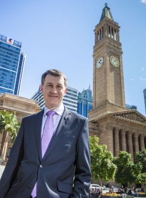 Brisbane Lord Mayor Graham Quirk.