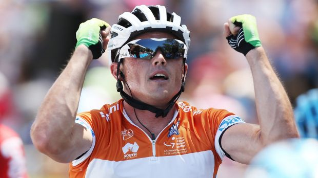 Injured: Simon Gerrans will miss the summer of cycling.